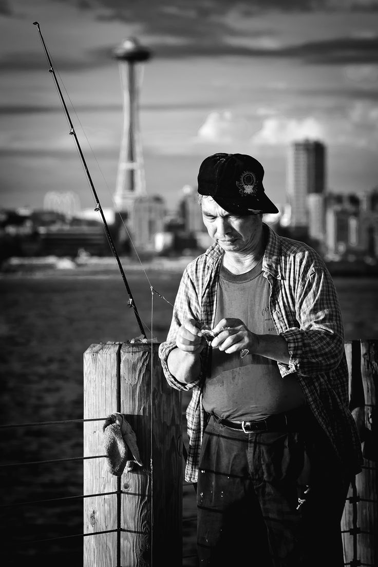 Seattle fisherman by Tamas Fekete on 500px
