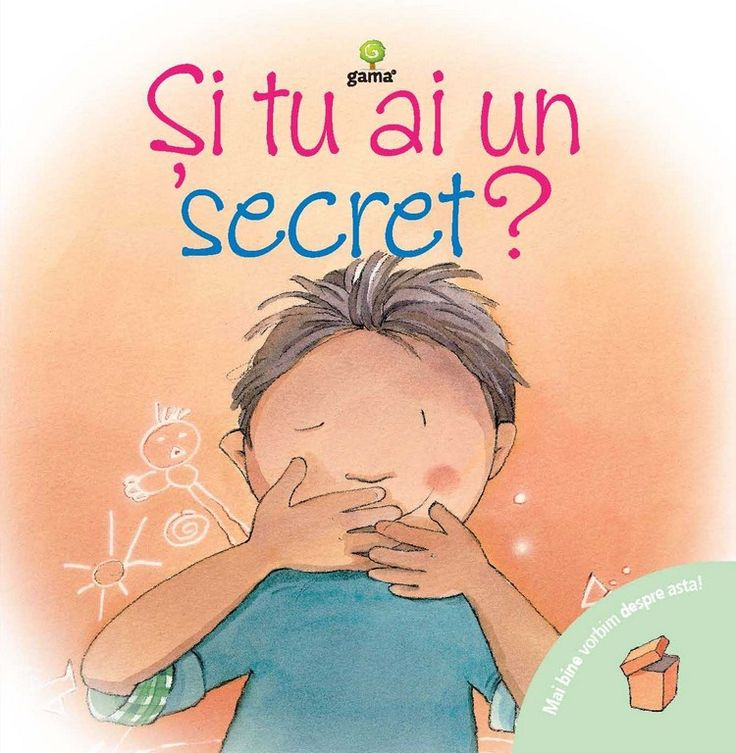 Si tu ai un secret? - Mai bine vorbim despre asta  - Nuria Roca, ilustratii Marta Fabrega - Cartea vorbeşte despre secretele frumoase, care sunt amuzant de păstrat, şi despre cele urâte, care îi întristează sau îi sperie pe copii. Şi tu ai un secret? îi încurajează pe cei mici să vorbească deschis cu părinţii sau educatorii despre secretele care îi neliniştesc şi îi fac nefericiţi.