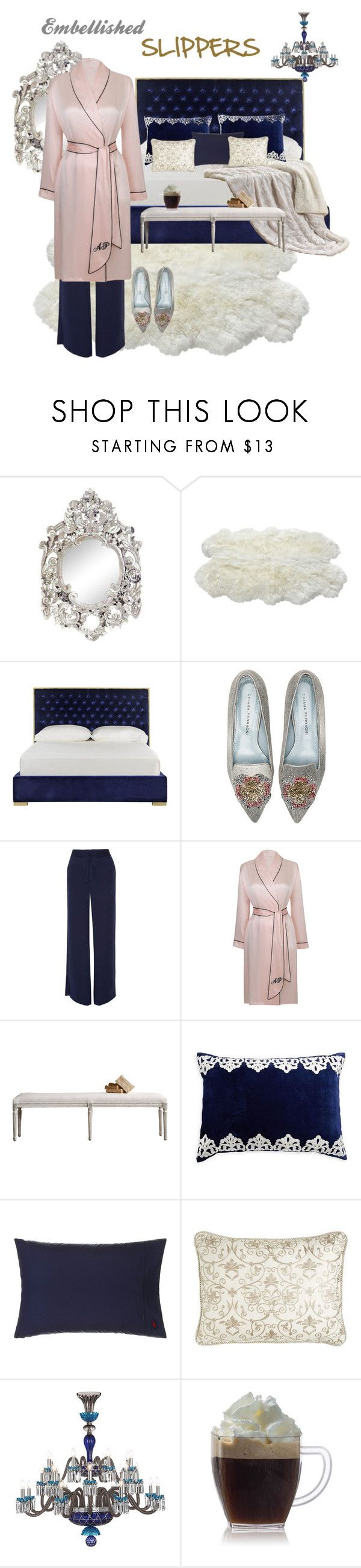 """""""Cocoa and Candy"""" by mary-kay-de-jesus ❤ liked on Polyvore featuring Safavieh, Chiara Ferragni, Diane Von Furstenberg, Agent Provocateur, Callisto Home, Ralph Lauren Home, Isabella Collection and Saint-Louis Crystal"""