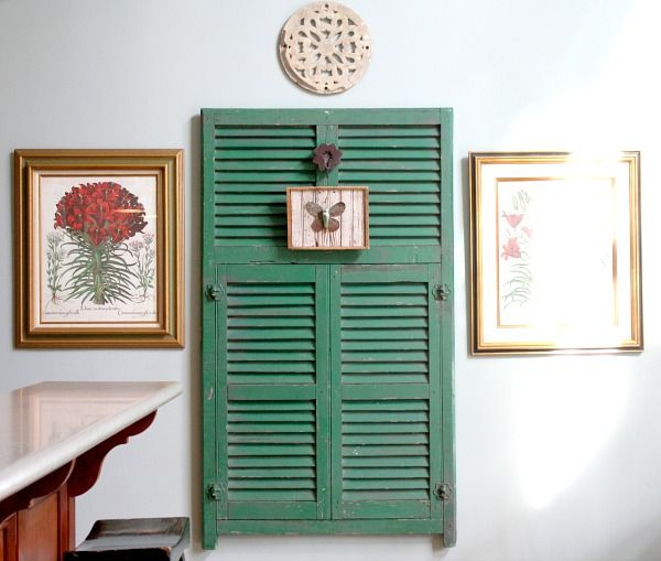 5 Beautiful Accent Wall Ideas To Spruce Up Your Home: 17 Best Ideas About Shutter Wall On Pinterest