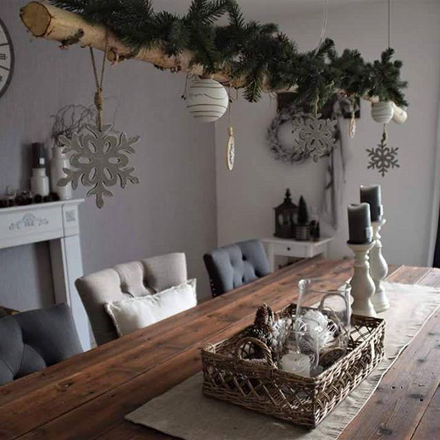 25 einzigartige holzdeko weihnachten ideen auf pinterest - Holzwurm im fensterrahmen ...