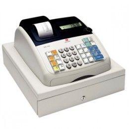 Diseño moderno y compacto con impresora de recibos de rodillo de tinta negra y gran pantalla numérica LCD digital. Cajón de efectivo con cerradura con 8 compartimentos de monedas, 3 para billetes y un cajón de depósito extra para más seguridad.