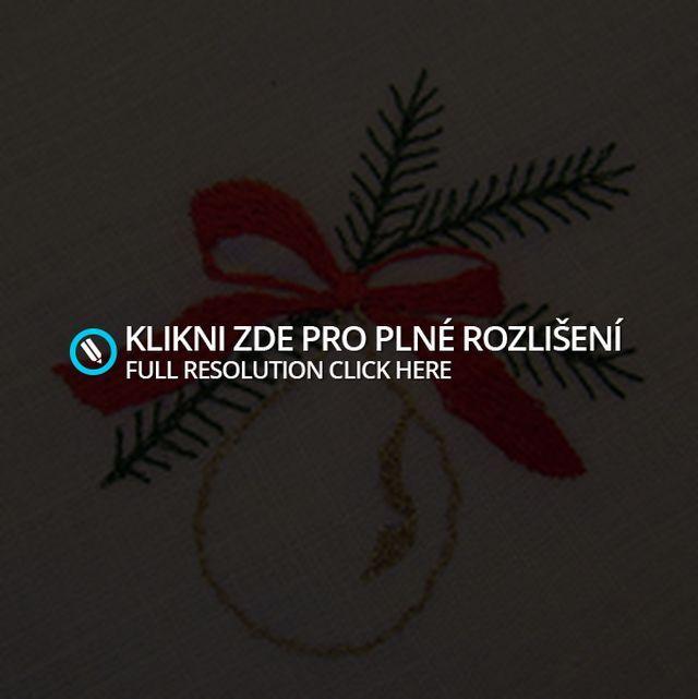 Detail vánoční výšivky3