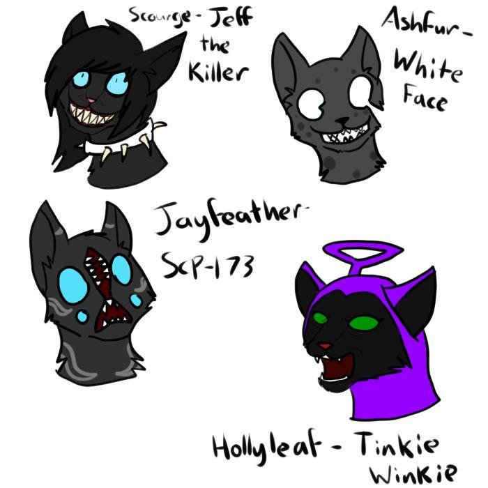Warrior Cats Jeff The Killer Creepypasta