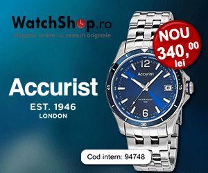 Ceasul Accurist te cucereste prin combinatia dintre bratara argintie si albastrul cadranului si este perfect pentru oricine are un stil de viata activ.  https://www.watchshop.ro/ceasuri-barbatesti/accurist/sport-mb923n/