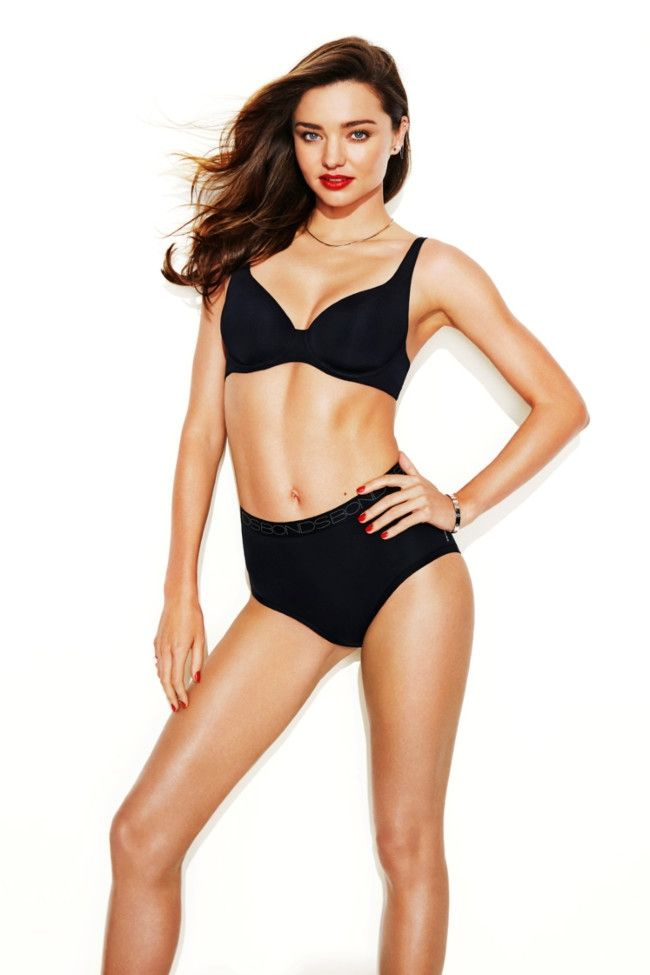 Miranda Kerr's work-out tips for looking your best in underwear