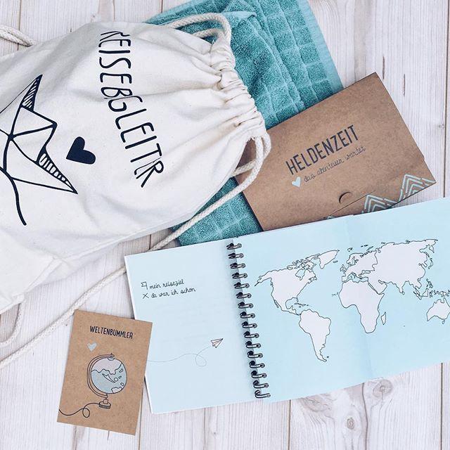 Die ersten Teile der Reisebegleiter Kollektion sind ab heute erhältlich - das Reisetagebuch ist für heute und morgen erst mal nur für alle verfügbar, die sich auf die Reservierungsliste eingetragen haben und ab Mittwoch dann für alle ☺️ Macht euch noch einen schönen freien Tag! #odernichtoderdoch #reisebegleiter