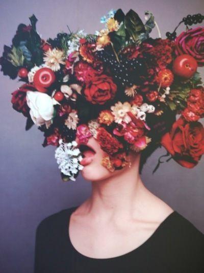 Flowers in my head.