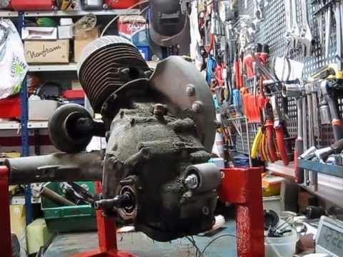 Restauración motor de Vespa Primavera Cap 1