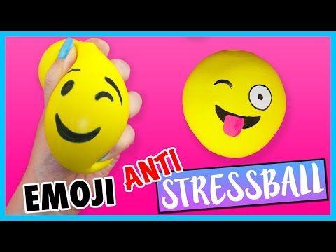DIY Emoji Anti Stressball | Schleim & Mehl Anleitung zum selber machen - YouTube