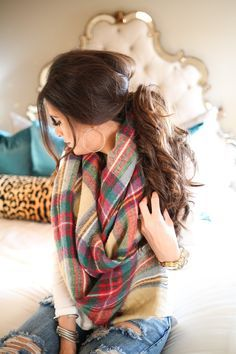 The Sweetest Thing: My Go-To Fall Hairstyle | Messy, Low Ponytail