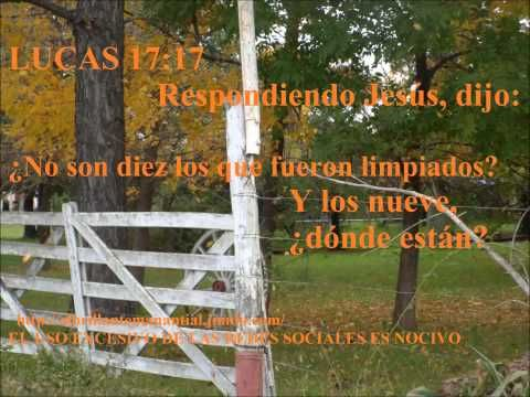 predica san lucas 17 11-19 EL LEPROSO!! PARA ESCUCHAR..........PROGRAMÁ TU ETERNIDAD