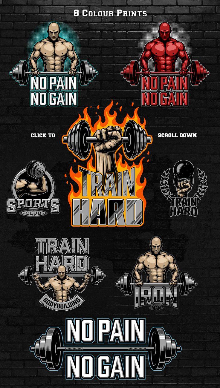 Bodybuilding Logo Templates Bodybuilding Logo Logo Templates Bodybuilding