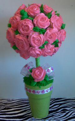 Cupscakes en bouquet