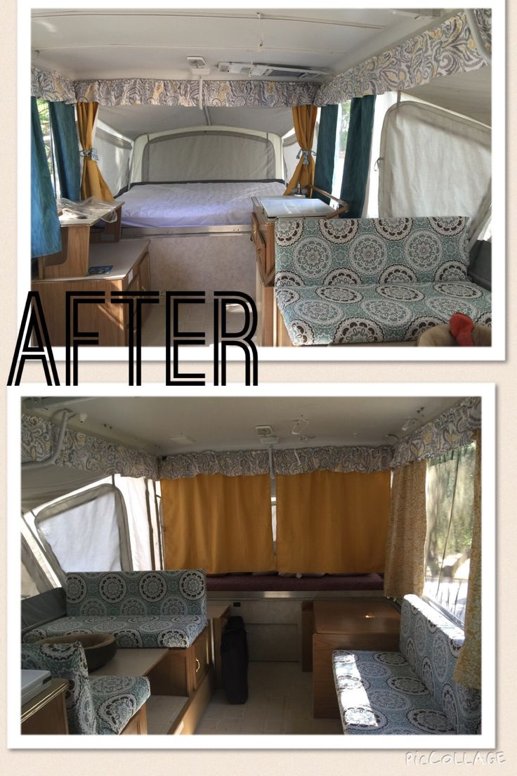 Updated look for the Coleman pop up camper.