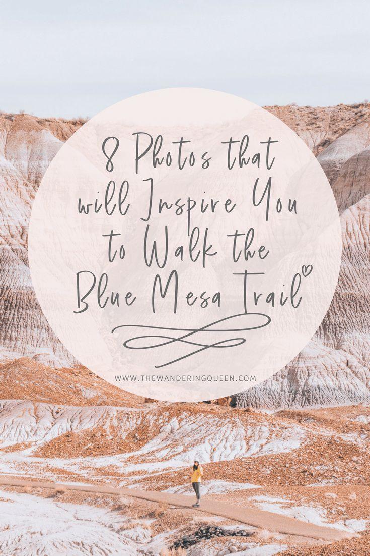 Blue Mesa Trail at Petrified Forest National Park | Arizona | USA | Hiking | Photography | Desert Landscape