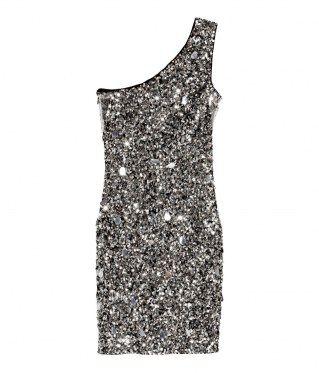 Paillettenkleid von H&M, 69,99 €