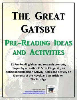 an analysis of the autobiographical elements in the great gatsby by f scott fitzgerald The american author f scott fitzgerald, a legendary figure of the 1920s, was an extremely observant artist, a beautiful writer, and an exceptional craftsman his tragic life was ironically similar to his romantic art zelda's first major nervous breakdown, in 1930, and her following treatment in a.
