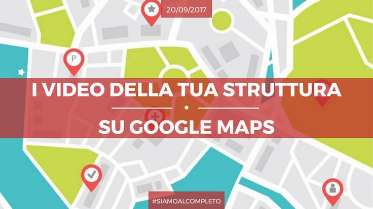 I video ormai sono il presente. Inizia ad usarli per dare maggiore visibilità alla tua struttura grazie a Google Maps: http://www.siamoalcompleto.it/video-google-maps