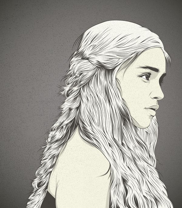 CranioDsgn: Art Games Of Thrones, Daenerys Targaryen, Products Avail, Art Inspiration, Daenerystargaryen, Art Prints, Stretch Canvas, Illustration, Craniodsgn