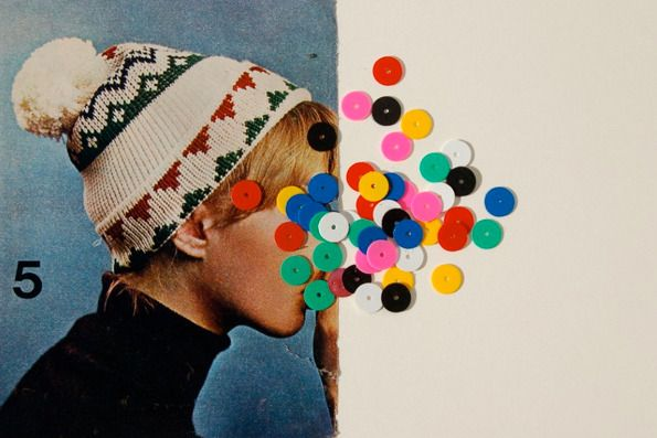It's Nice That : Rainy day blues? Check out Virginia Echeverria Whipple's collages