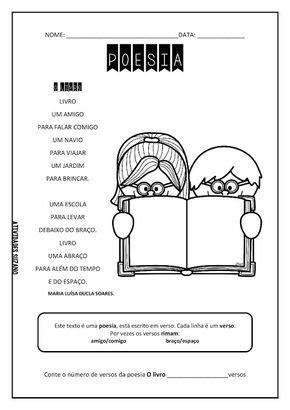Poesia - Atividades Adriana