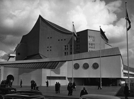 Berlin 1963 Philarmonie