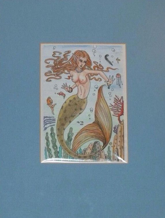 Small mermaid picture