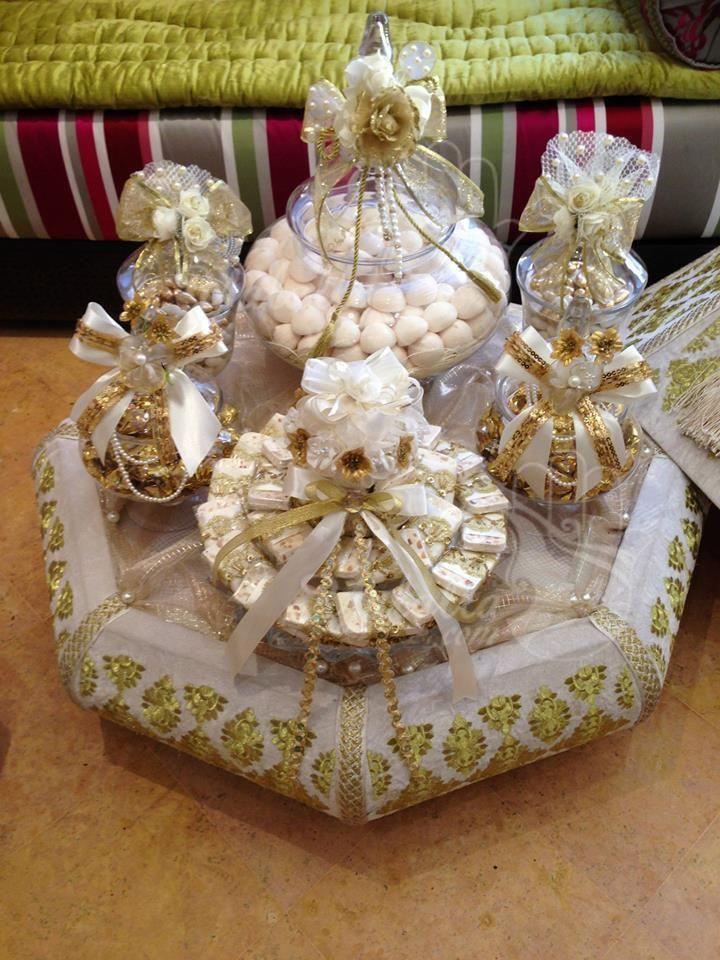 هدية العروس المغربية غاية في الرقي من تنسيق لالة فدوى