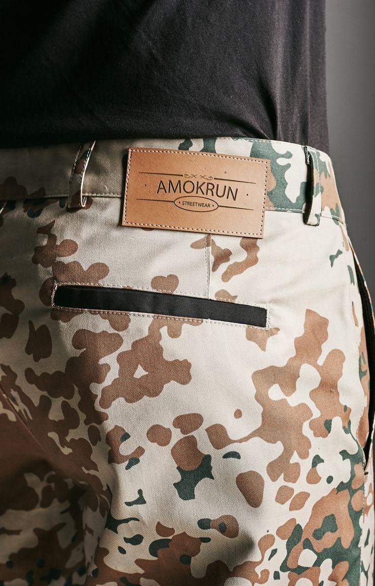 Amokrun Desert #Jogger Pants details. www.amokrun.com