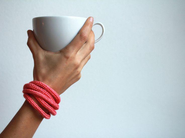 Strickliesel Armband *SWITBERT* von sechsminus auf DaWanda.com