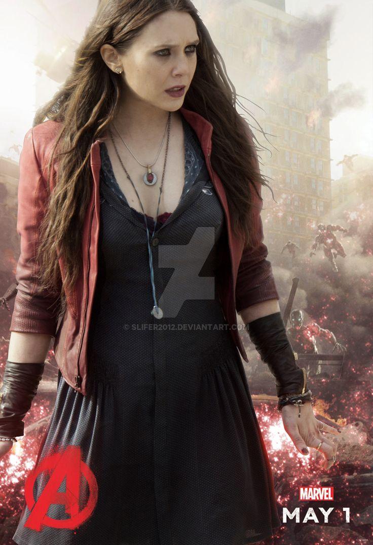 Scarlet Witch Avengers: Age of Ultron by Slifer2012.deviantart.com on @DeviantArt