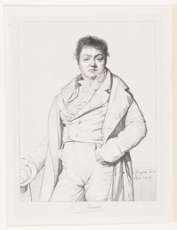 Edouard Taurel | Portret van Charles Thévenin, Edouard Taurel, Benoit Taurel, Henriette Ursula Claire Taurel, 1816 |