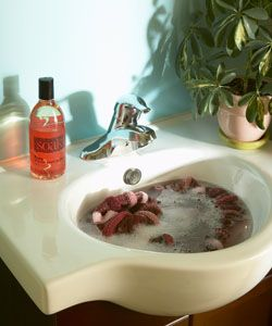 Soak Wash - no scrub, no rinse hand wash soap for your delicates.  We think it's life changing!