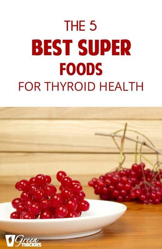 The 5 Best Super Foods For Thyroid Health