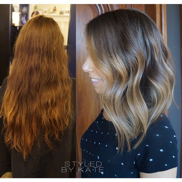 """""""Loving all of these long bobs for fall, they look so cute paired with jackets and scarves. #styledbykate"""""""