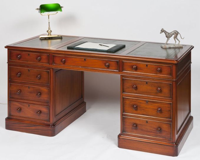 we love this directors traditional desk from country desks