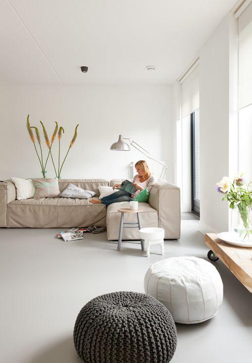 De nieuwe Forbo Marmoleum vloer bij Leonie in Amersfoort. Photo by Jansje Klazinga JKF®