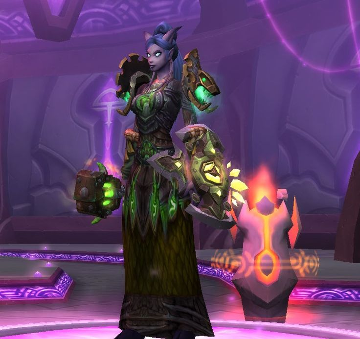 Green mail transmog on Shaman                                                                                                                                                                                 More
