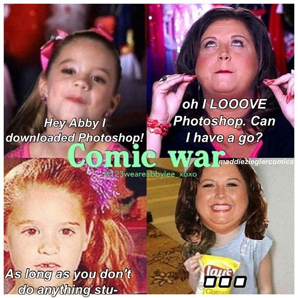 Funny Dance Moms comics