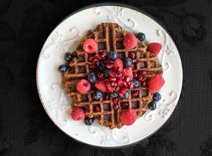 The Secret Ingredient to Mastering the Vegan Waffle Game:  Chia Pudding! Yay!