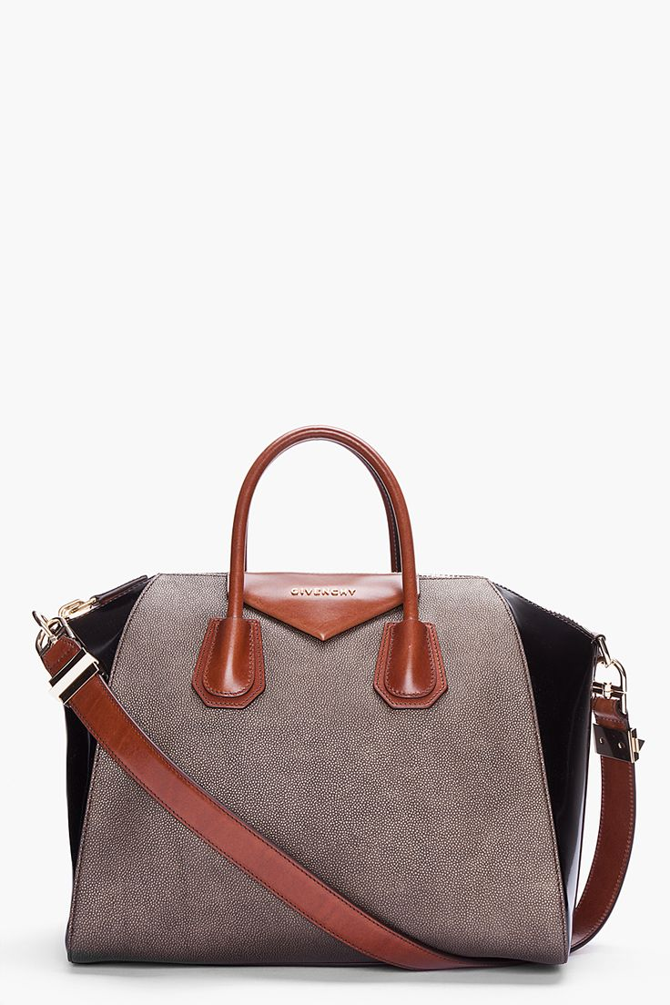 GIVENCHY Medium Antigona Sharkskin Effect Bag