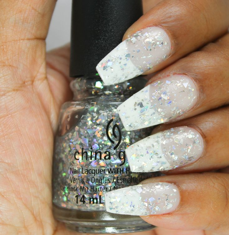 China Glaze ● Holiday 2015 Cheers Collection ● break the ice