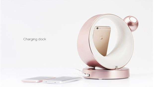 #Dodock can help you tidy up while juicing up all of your devices. No more cluttered bedside tables