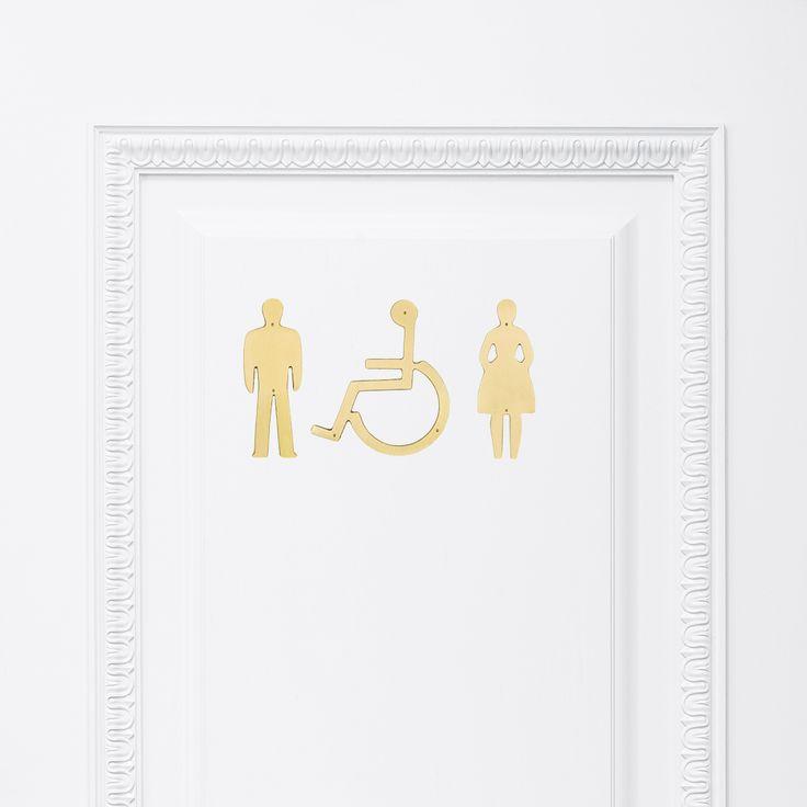 WC-skyltar