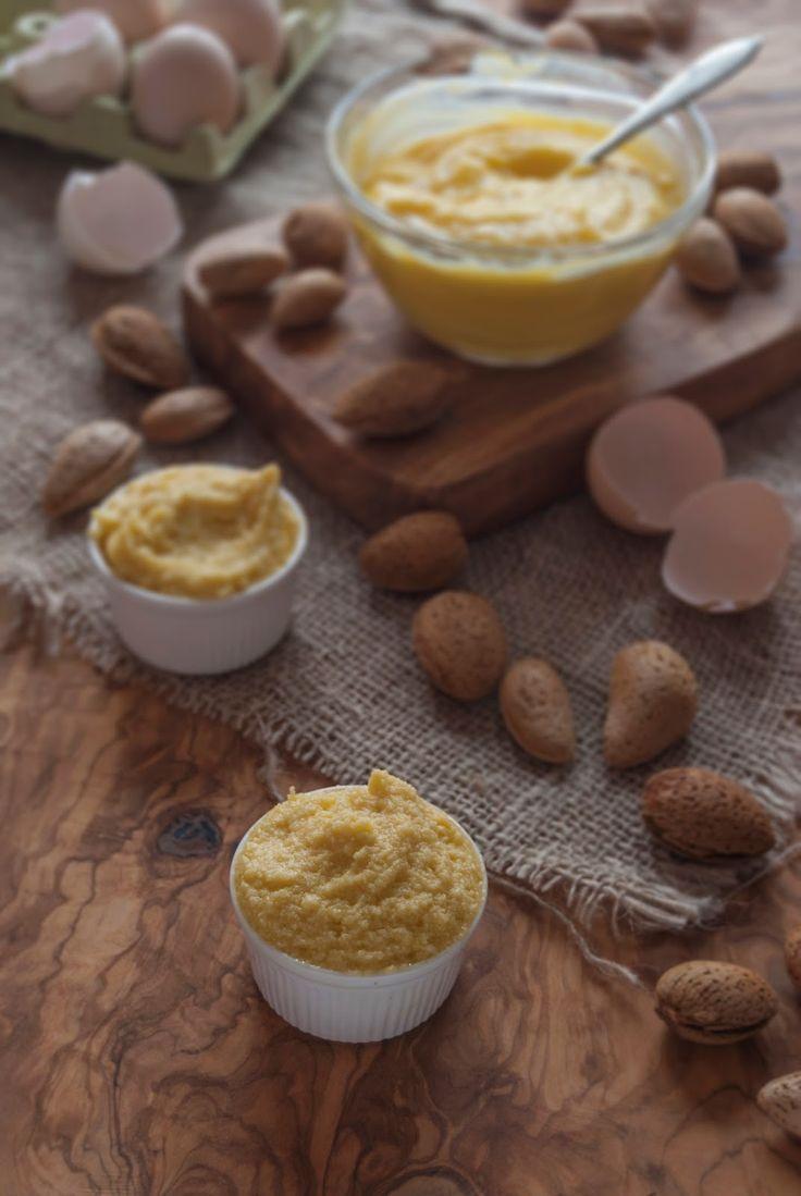 La asaltante de dulces: Crema de almendras para hacer Frangipane/ Almond cream for make Frangipane