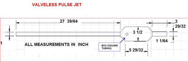 PULSE JET ENGINES PLANS