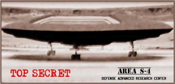 Protopico de Nave Antigravitatoria Dron OVNI AREA S-4
