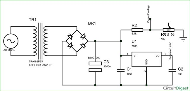 Schematic Diagram Electronics