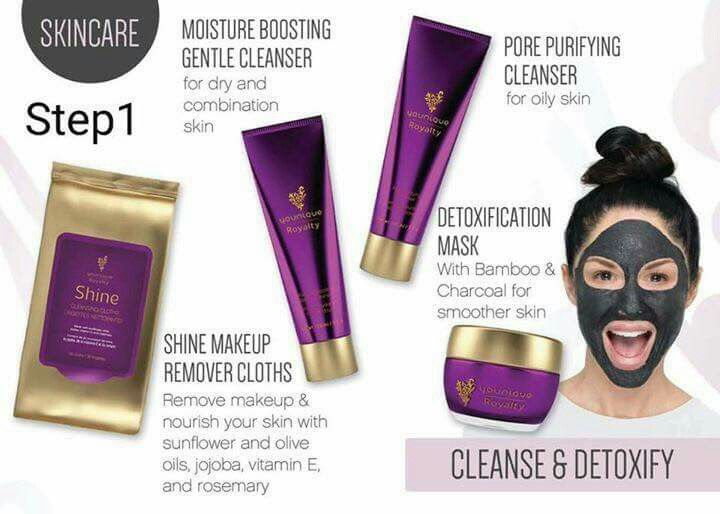 Royalty Skin Care product orders!  Www.theglamourtrifecta.com